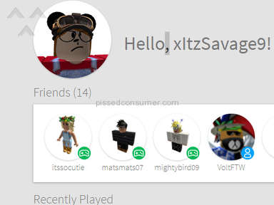 Roblox Account review 270582