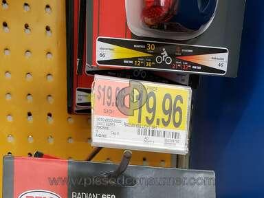 Walmart Bell Sports Radian 650 Headlight review 310940