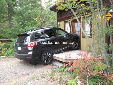 Subaru Of America - Unintended acceleration of a 2017 Forester XT