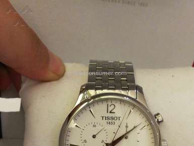 My tissot watch, the arrow dropped out