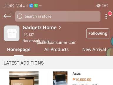 Lazada Philippines Piercey Shop Profile review 691933