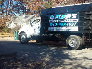 Furrs Tree and Landscaping - Furr's Tree - I WAS SCAMMED!  DISHONEST & RUDE OWNER