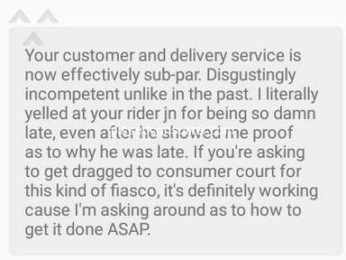 Foodpanda Food Delivery review 297362