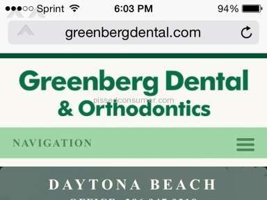 Greenberg Dental And Orthodontics - Dental Service Review from Daytona Beach, Florida