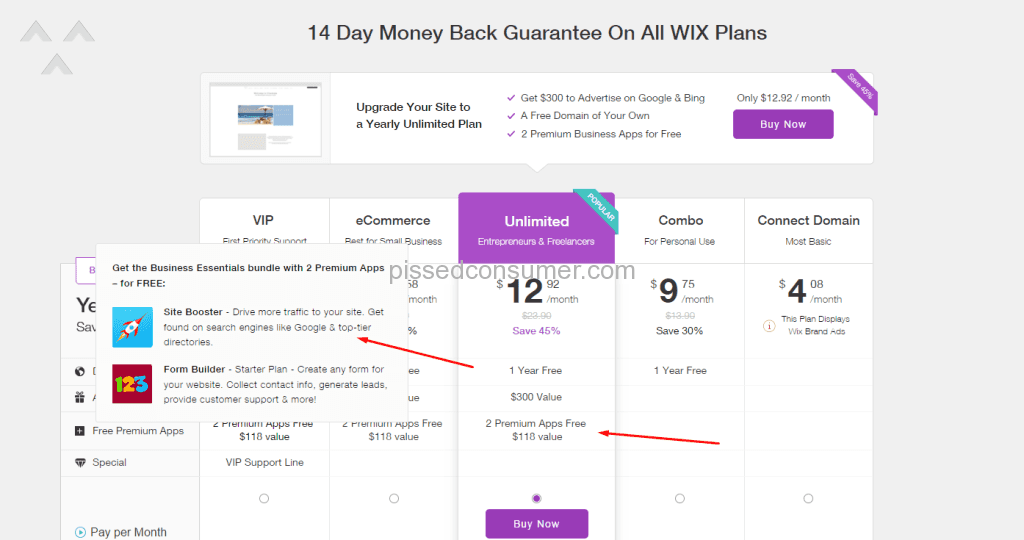 10 Wix Reviews and Complaints @ Pissed Consumer