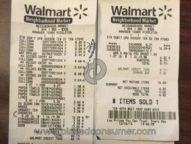 Walmart Cashier review 103145