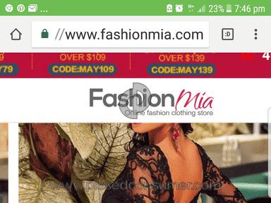 Fashionmia - Want verify my order status