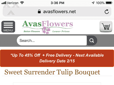Avasflowers Flowers review 371374