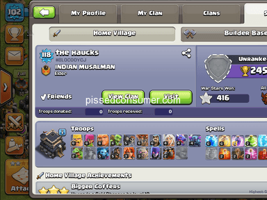 Supercell - Lost village the haucks ACC. Player tag#8LOCOOYCJ