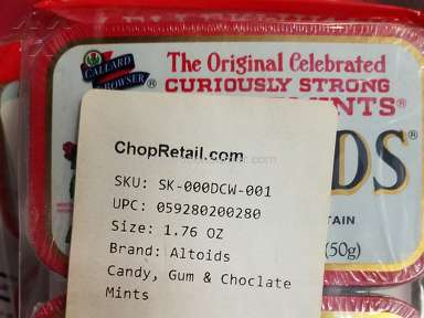 Chopretail Altoids Candy review 231948