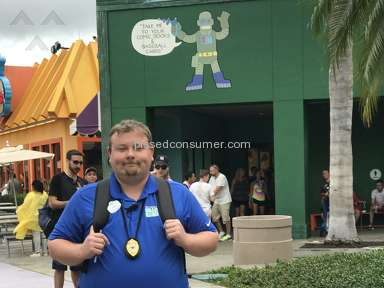 Universal Studios Orlando - Assaulted at Universal Studios