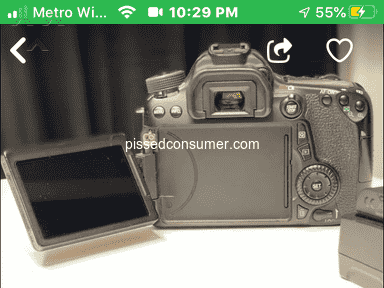 OfferUp Canon Camera review 678211