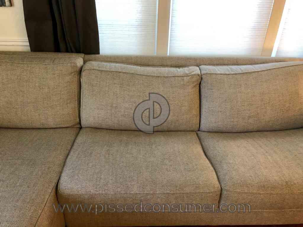 West Elm Henry Sofa Sleeper Fail Jan 02 2019 Pissed Consumer