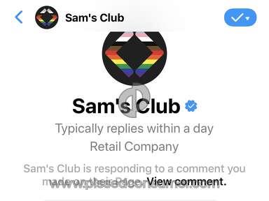 Sams Club Customer Care review 682337