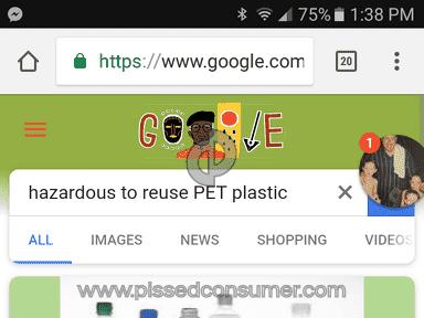 Clover Valley - Polyethylene Terephthalate (pet) plastic