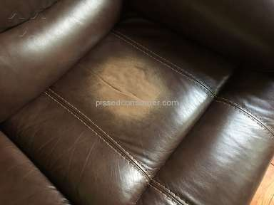 "Rooms To Go - Fake ""Top Grain Leather"""
