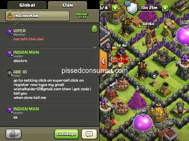 Supercell - I want my clan back fast as soon as possible