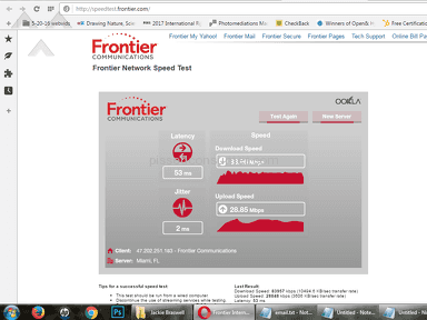 Frontier Communications Fios Internet Service review 169700