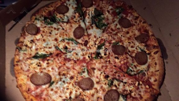 Dominos Pizza 3-topping Pizza