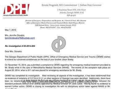 Metro Atlanta Ambulance Service Other review 173732