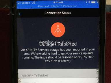 Comcast - This is the crap I'm dealing with