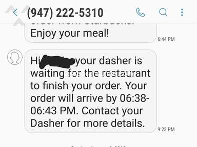 DoorDash Delivery Service review 362580