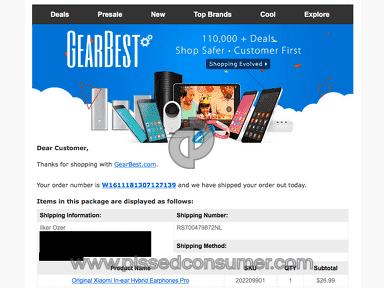 Gearbest Xiaomi Headphones review 183522
