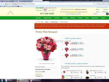 Avasflowers Flower Basket review 114877