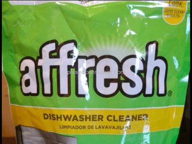 Whirpool Affresh Dishwasher Cleaning Tablets
