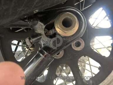 Harley Davidson - Rear wheel conplaint, johnrpenrose@gmail.com