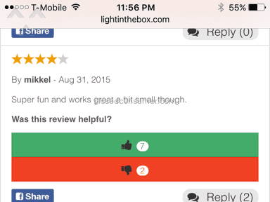 Light In The Box E-commerce review 106263