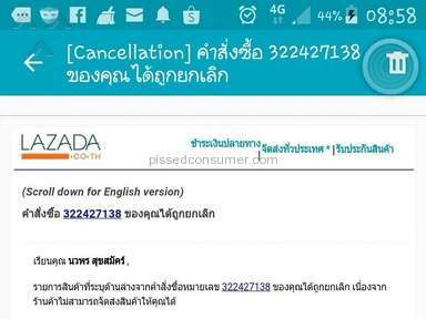 Lazada Thailand Website review 184776