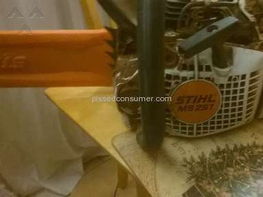 Stihl Chainsaw review 113971