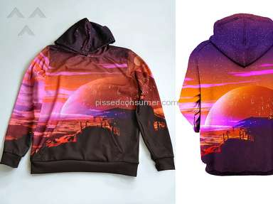 IEDM - Lackluster hoodie made with lackluster material