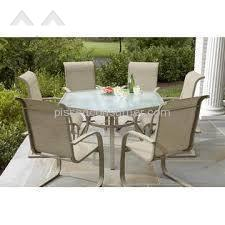 Jaclyn Smith Patio Table   Glass Top Exploding
