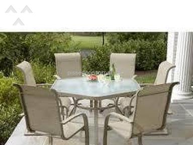 Jaclyn Smith Stegner Patio Table review 206472