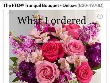 Ftd  Tranquil Deluxe Bouquet Review from New Haven, Connecticut