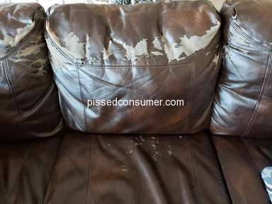 American Furniture Warehouse - Couches are falling apart