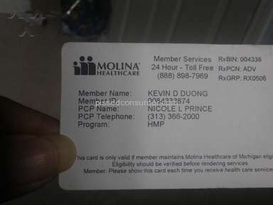 Molina Healthcare - I went to get my medication yesterday 5-16-2017 and was pronounced termination without a mail.