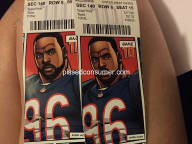 Vivid Seats - I received my tickets and hey are ripped