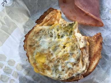 Jack In The Box Breakfast Jack Burger Review from Walnut Creek, California