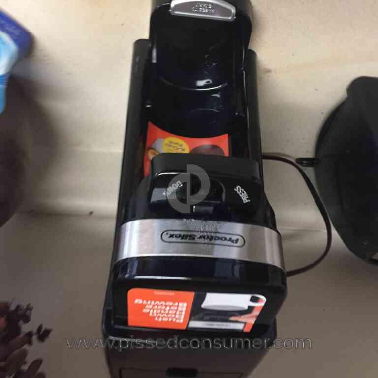 Proctor Silex Coffee Maker Not Working : Proctor Silex - Coffee Maker Review Jan 22, 2017 @ Pissed Consumer