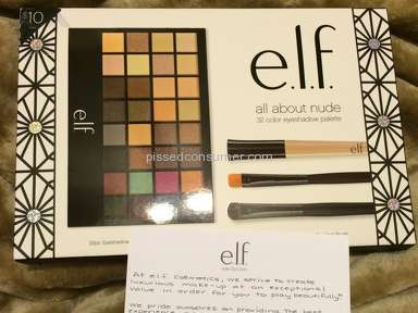 Elf Cosmetics - Eyeshadow Review from Visalia, California