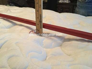 Kingsdown Mattress - Not happy with quality of product or warranty customer service dept.