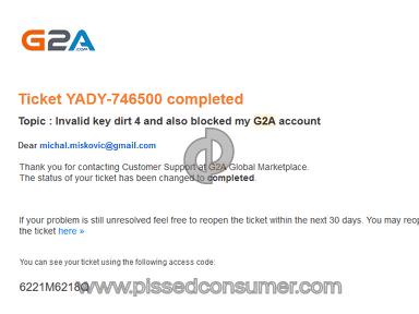 G2A Dirt Cd Key review 287228