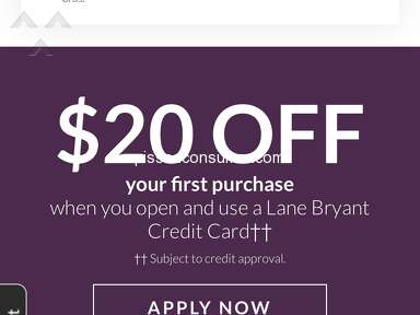Lane Bryant - A Joke!