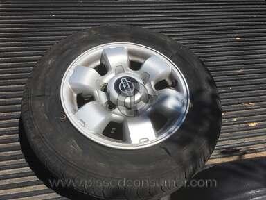 Falken Tire - Blown tire at 6000 miles