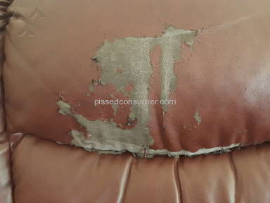 Rooms To Go - Peeling Sofa and Loveseat