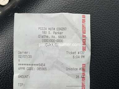 Pizza Hut Fast Food review 527807