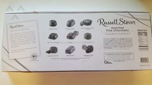 Russell Stover Candies Assorted Chocolate